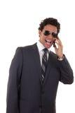 Сердитый бизнесмен Стоковые Фотографии RF