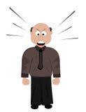 Сердитый босс Стоковые Изображения RF