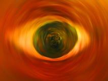 сердитый глаз Стоковое фото RF