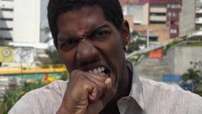 Сердитый, гнев, осадка, гневная сток-видео