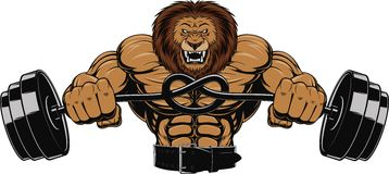 Сердитый лев бесплатная иллюстрация