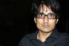 Сердитый индийский человек стоковые изображения rf