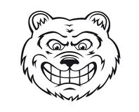 сердитый медведь Стоковое фото RF