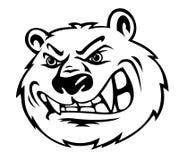 сердитый медведь Стоковое Изображение RF