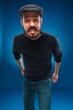 Сердитый молодой человек Стоковые Фотографии RF