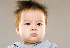 сердитый младенец стоковые фотографии rf