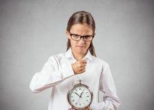 Сердитый подросток быть bossy Стоковая Фотография RF