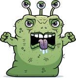 Сердитый уродский чужеземец Стоковое Изображение RF