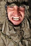сердитый человек Стоковые Фото