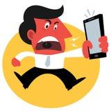 сердитый человек Стоковое Изображение RF