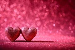 Сердца Валентайн Стоковые Фотографии RF