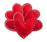 Сердца Валентайн Стоковая Фотография RF