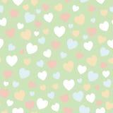 сердца делают по образцу безшовный вектор Стоковая Фотография RF