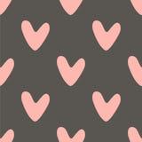 сердца делают по образцу безшовный вектор Стоковое Фото