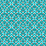 сердца делают по образцу романтичное безшовное красивейше Стоковое Фото