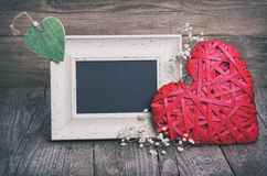 2 сердца и классн классного Стоковые Изображения RF