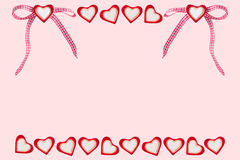 Сердца и сердца с петлей Стоковое фото RF