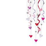 сердца карточки Стоковая Фотография RF