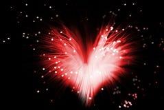 сердца красные Стоковое Изображение RF
