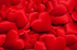 сердца много красный цвет Стоковое Изображение