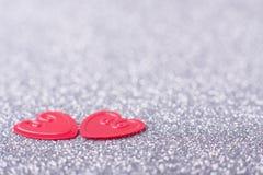 сердца немногая красное Стоковые Изображения RF