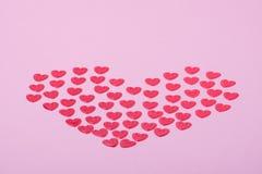сердца немногая красное Стоковое Изображение RF