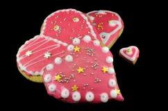 Сердца печенья стоковая фотография