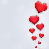Сердца праздника валентинки Стоковое фото RF
