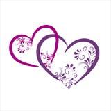 сердца предпосылки цветастые бесплатная иллюстрация