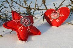 Сердца рождества стоковая фотография