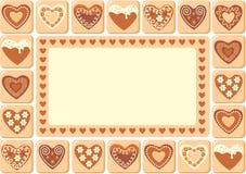 сердца сладостные Стоковое Изображение RF