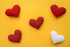 Сердца сделанные с руками Стоковое фото RF