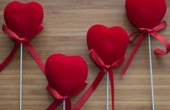Сердца с ручками стоковое фото rf