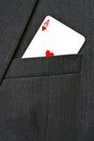 сердца туза Стоковые Фотографии RF
