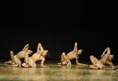 Сердца человек-черного Анджел-современного генри yu танц-хореографа Стоковое Изображение