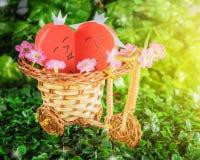 2 сердца любовников Стоковая Фотография
