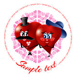 сердца любя 2 Стоковые Фотографии RF