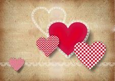Сердца для валентинки st иллюстрация штока