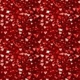 сердца делают по образцу безшовное Стоковое Изображение RF
