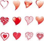 сердца 12 Стоковая Фотография RF