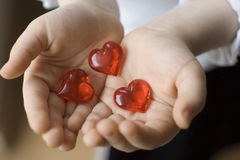 сердца 3 Стоковые Фото