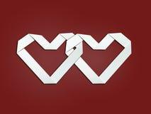2 сердца Стоковое фото RF