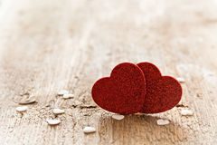 2 сердца Стоковые Фото