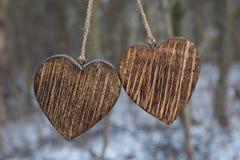 сердца 2 Стоковые Изображения