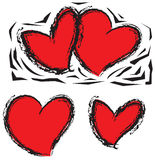 сердца Стоковая Фотография