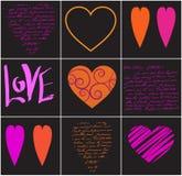 сердца Стоковая Фотография RF