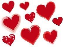 сердца Стоковое Фото