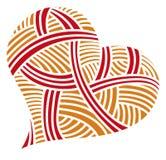 Сердца doodle дня валентинки Стоковая Фотография RF