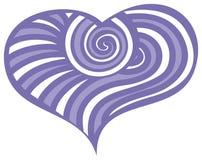 Сердца doodle дня валентинки Стоковые Фотографии RF