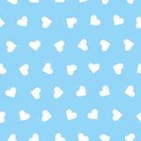 Сердца vector безшовная картина Стоковая Фотография RF